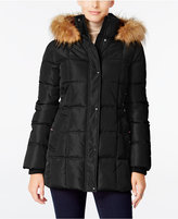Tommy Hilfiger Faux-Fur-Trim Hooded Quilted Puffer Coat, Only at Macy's