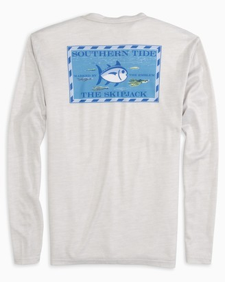 Southern Tide Under The Sea Long Sleeve Performance T-Shirt