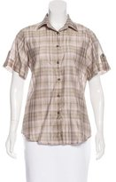 Burberry House Check Button-Up Shirt