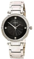 GUESS Women's Quartz Stainless Steel Dress Watch, Color:Silver-Toned (Model: U0695L1)