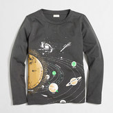 J.Crew Factory Boys' long-sleeve glow-in-the-dark solar system storybook T-shirt
