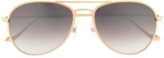Matsuda M3071 aviator-frame sunglasses