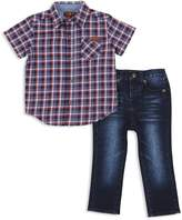 7 For All Mankind Boys' Button-Up Shirt & Jeans Set