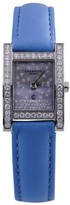 Charriol Megeve Stainless Steel Diamond Dial and Bezel 19mm Watch