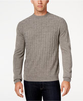 Weatherproof Vintage Men's Big and Tall Crew-Neck Sweater, Classic Fit