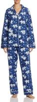 PJ Salvage Elephant Flannel Pajama Set