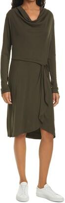 Ted Baker Faustaa Long Sleeve Jersey Dress