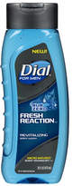 Dial for Men Body Wash Fresh Reaction Sub Zero