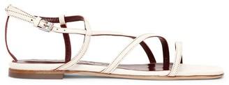STAUD Gitane Leather Sandals