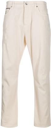 Brunello Cucinelli Slim-Fit Logo Tapered Jeans