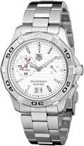 Tag Heuer Men's Stainless Steel Analog with Stainless Steel Bezel Watch WAP111Y.BA0831