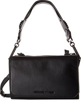 McQ by Alexander McQueen Vail Smooth Leather Shoulder Bag