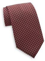 Saks Fifth Avenue Dot Neat Silk Tie