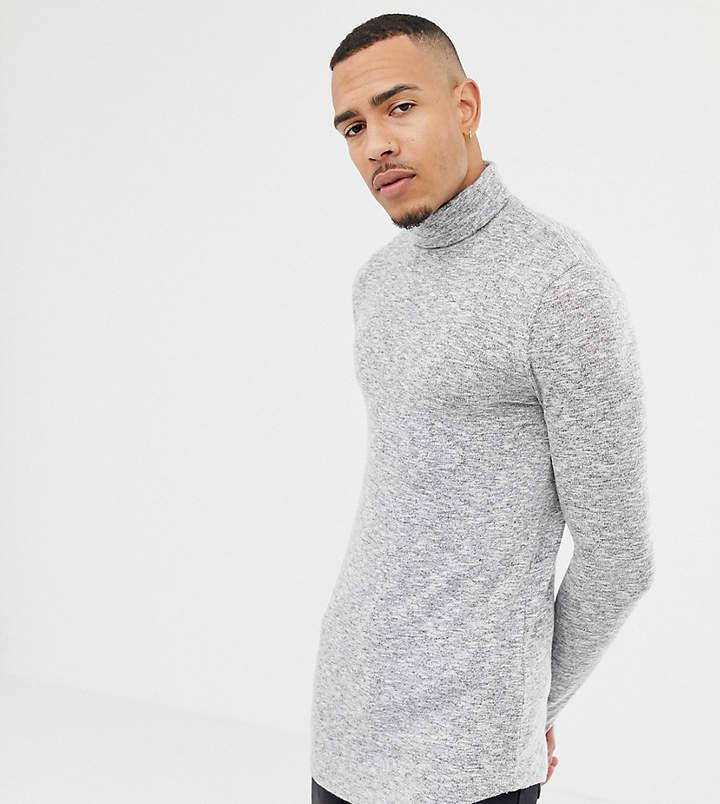 86ad19a5 Curved Hem T Shirts Men -longline - ShopStyle