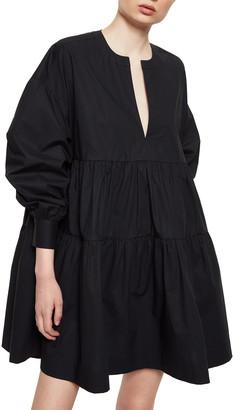Anine Bing Addison Long Sleeve Dress