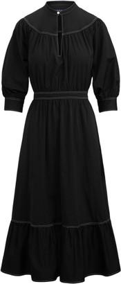 Ralph Lauren Cotton Broadcloth Dress