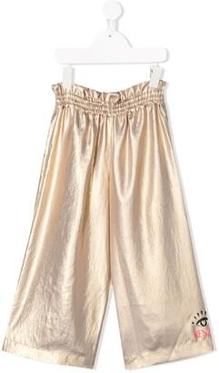 Kenzo Kids Wide Leg Trousers