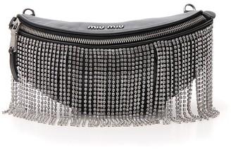 Miu Miu Embellished Belt Bag