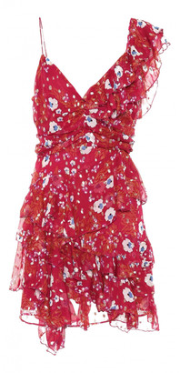 Isabel Marant Red Silk Dresses