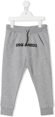 DSQUARED2 printed logo sweatpants