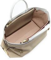 Chloé Charlotte Tote Bag, Gray/White