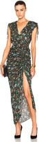 Veronica Beard Teagan Ruched Dress