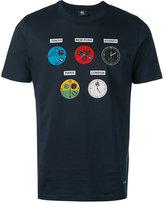 Paul Smith clock-print T-shirt - men - Cotton - L