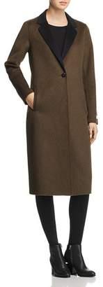Calvin Klein Double-Faced Longline Coat