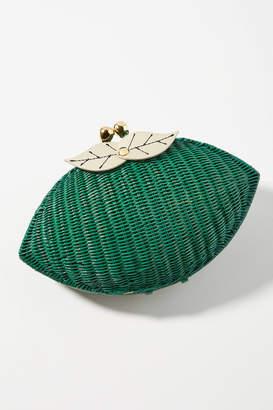 Serpui Marie Tahiti Lime Clutch