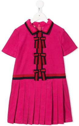 Gucci Kids Bow Front Dress