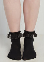 Just You and Eyelet Socks in Black