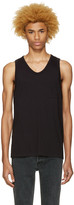 Alexander Wang Black Pocket Tank Top