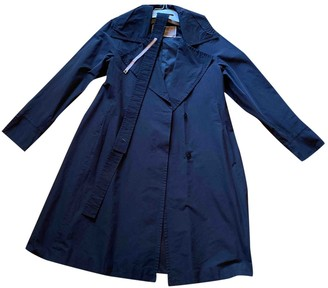 Max Mara Blue Trench Coat for Women