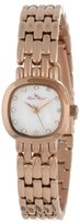 "Lucien Piccard Women's 12012-RG-02MOP ""Teide"" Stainless Steel Rose Gold-Tone Watch"