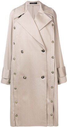 Rokh Oversized Trench Coat