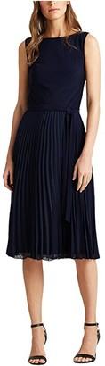 Lauren Ralph Lauren Florin Dress (Lighthouse Navy) Women's Dress