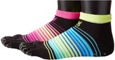 Steve Madden 2-Pack Open Toe Low Cut with Grippers Yoga Socks