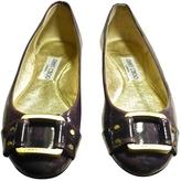 Jimmy Choo Purple Patent leather Ballet flats