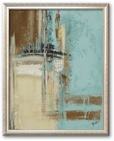 "Art.com Oxido on Teal II"" Framed Art Print by Patricia Quintero-Pinto"