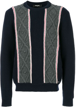 DSQUARED2 Chunky Knit Sweater