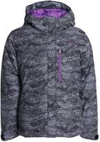 Columbia ALPINE FREE FALL Snowboard jacket black dotty mogul print