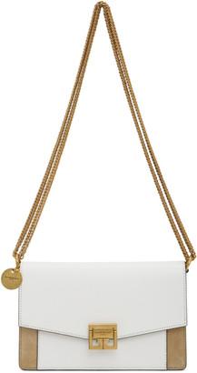Givenchy White and Beige Mini GV3 Bag
