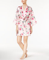 Thalia Sodi Banded Floral-Print Wrap Robe, Only at Macy's
