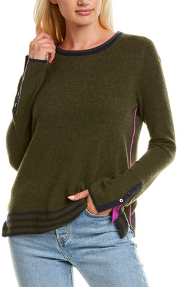 LISA TODD Up Your Sleeve Cashmere Sweater