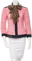 Dolce & Gabbana Wool Patterned Jacket