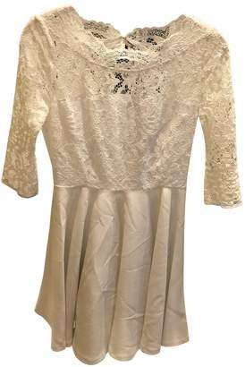 Claudie Pierlot White Lace Dresses