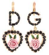Dolce & Gabbana Crystal-embellished earrings