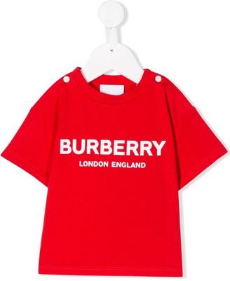 BURBERRY KIDS logo printed T-shirt