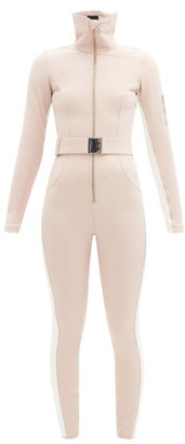 Cordova Belted Technical-twill Ski Suit - Dusty Pink