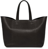 Victoria Beckham Genuine Python New Simple Shopper Tote - Black
